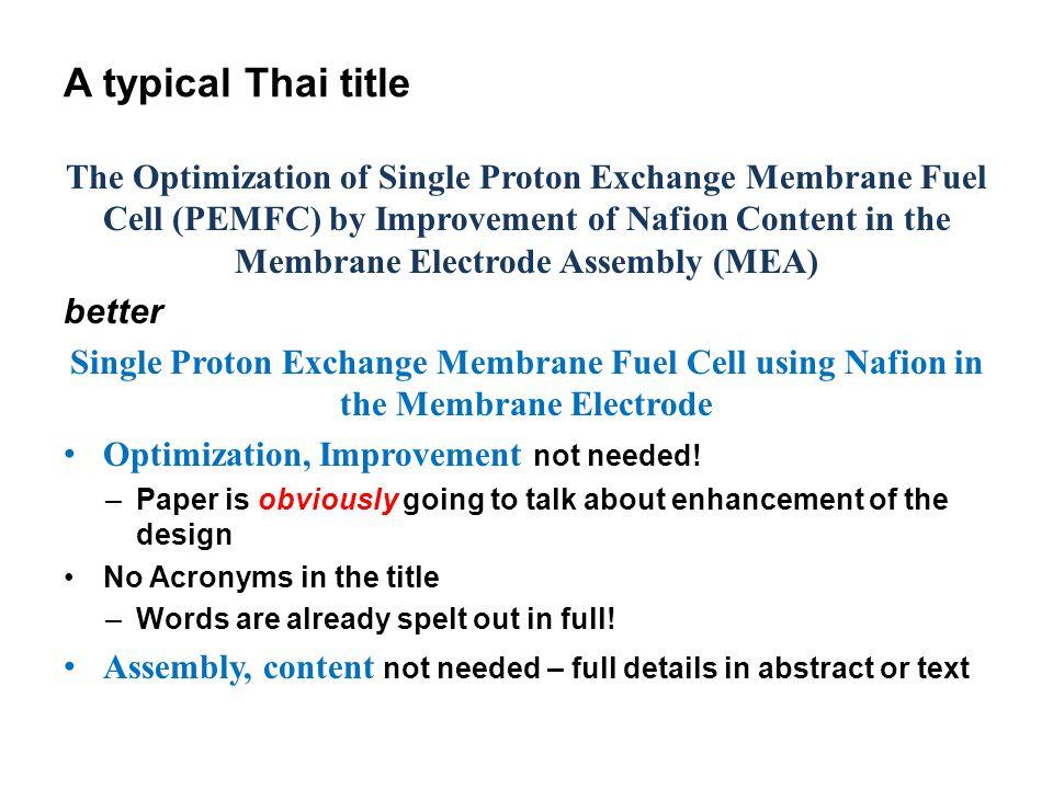 A typical Thai title
