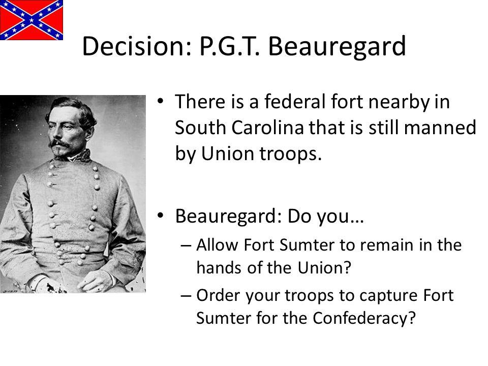 Decision: P.G.T. Beauregard
