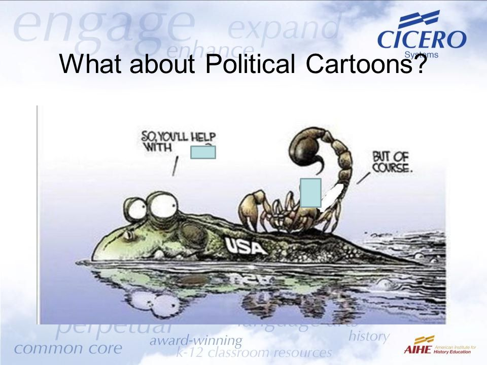 What about Political Cartoons