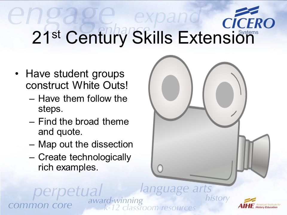 21st Century Skills Extension
