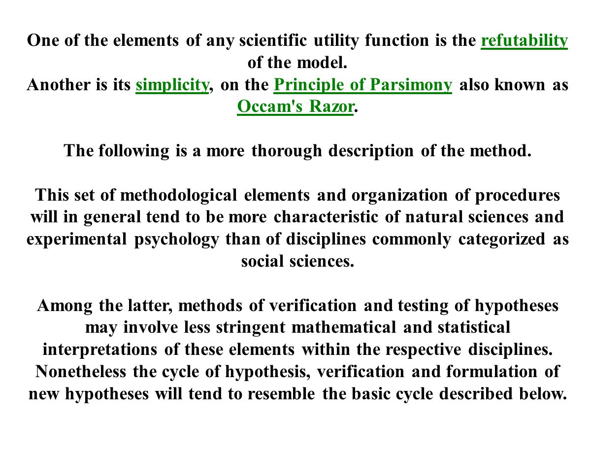 The following is a more thorough description of the method.