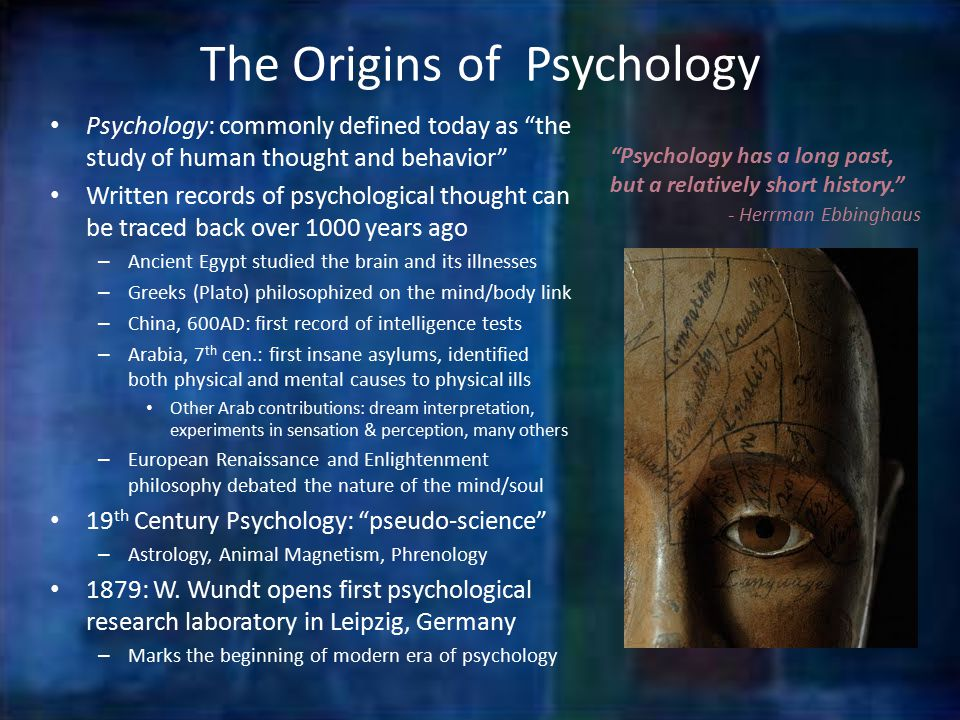 origins of psychology essay It's too hard for you to write a psychology essay maybe a sample will help read great samples of psychology essays at our website we help you write.