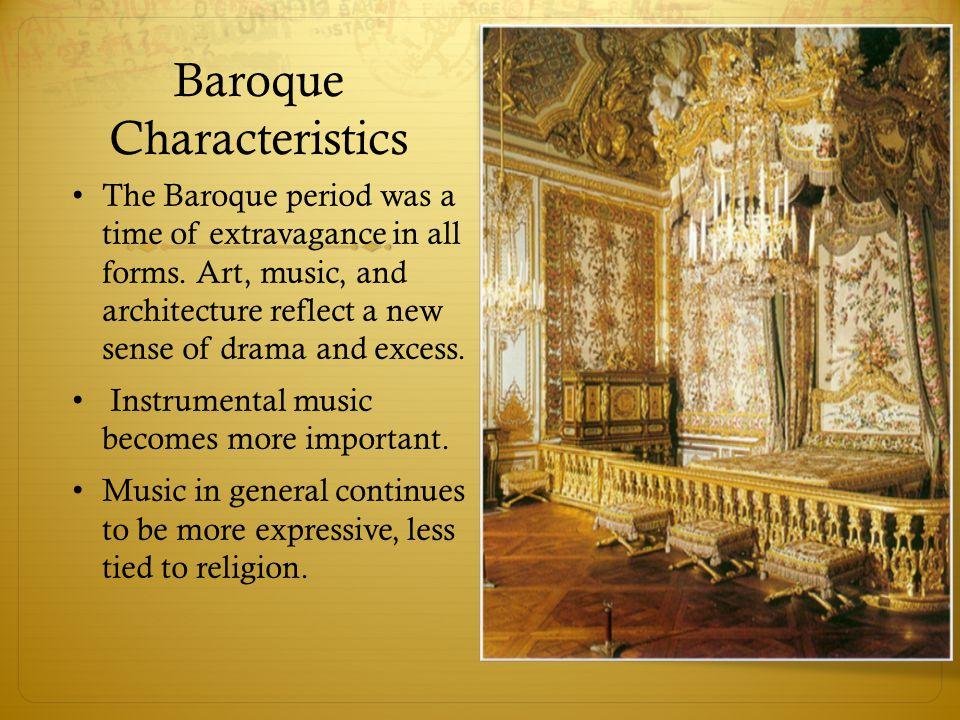 baroque music and renaissance period