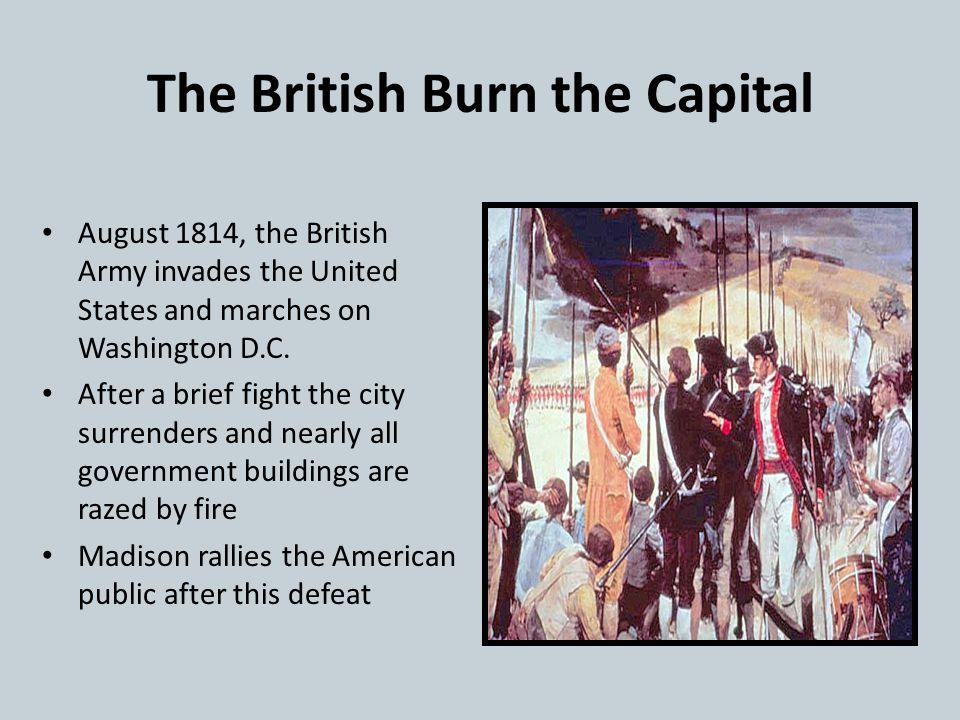 The British Burn the Capital