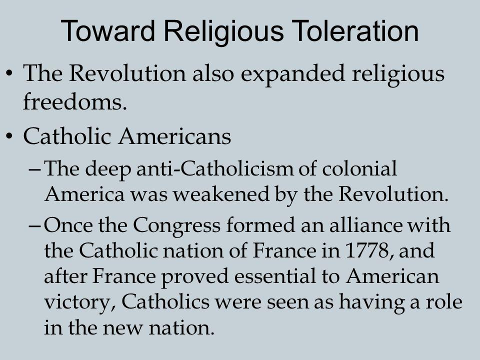 Toward Religious Toleration