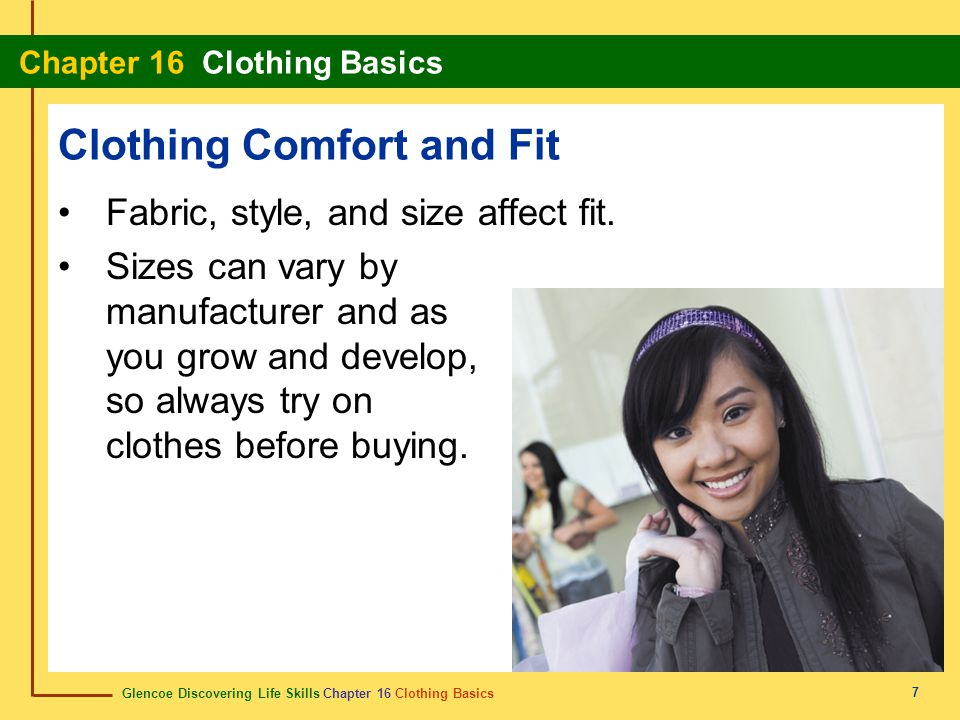 Clothing Comfort and Fit
