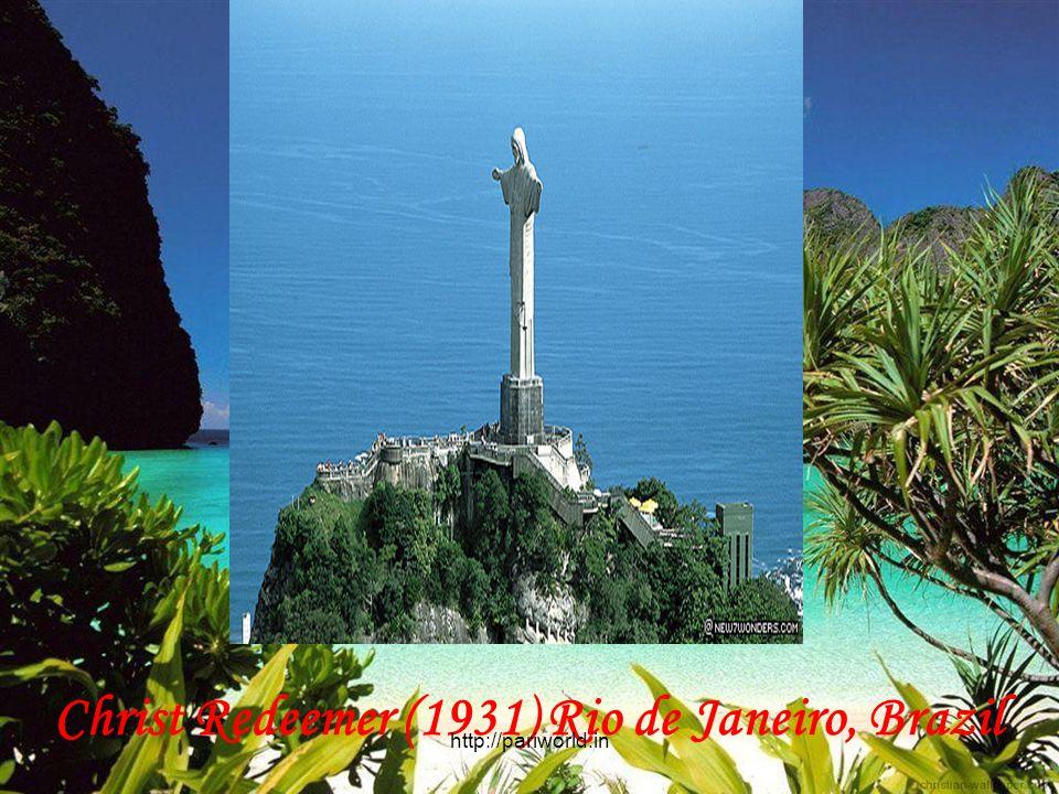 Christ Redeemer (1931) Rio de Janeiro, Brazil