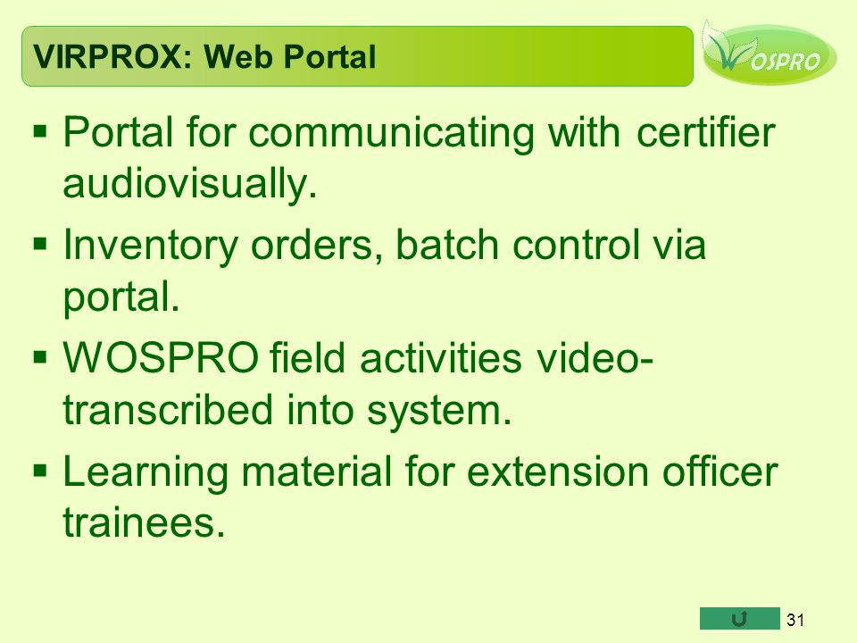 Portal for communicating with certifier audiovisually.