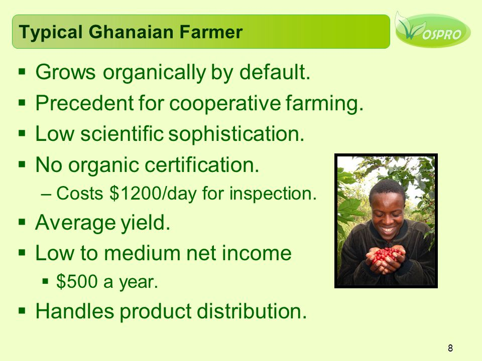 Typical Ghanaian Farmer