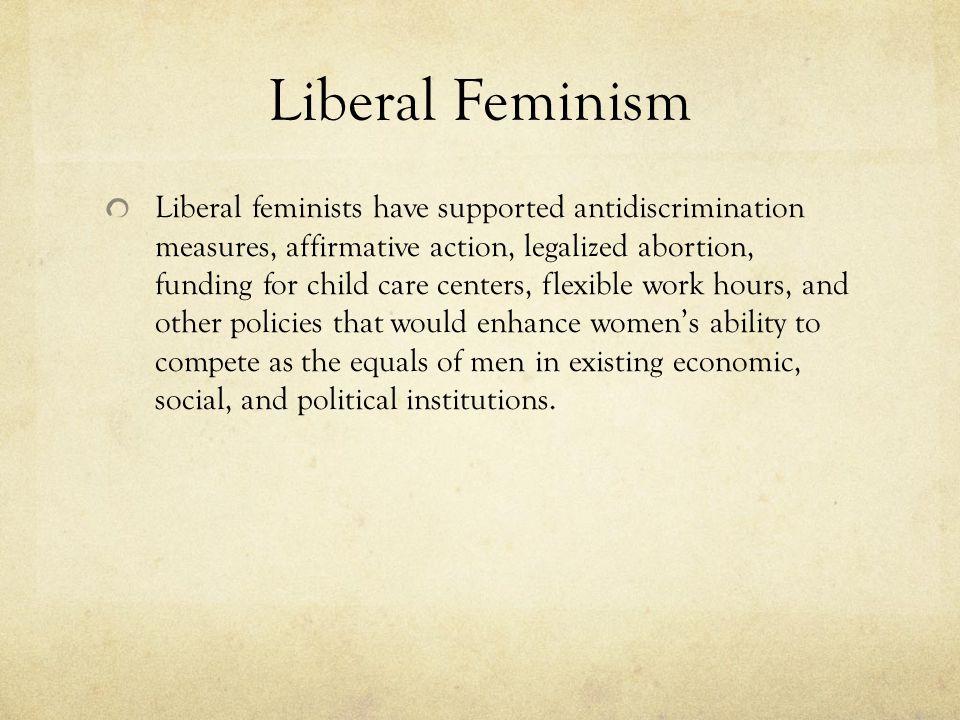 Liberal Feminism