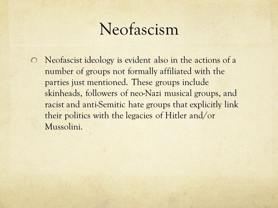 Neofascism