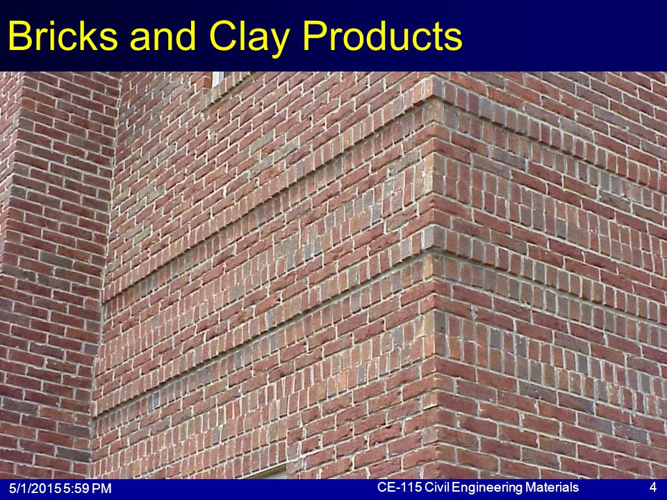Bricks and Clay Products