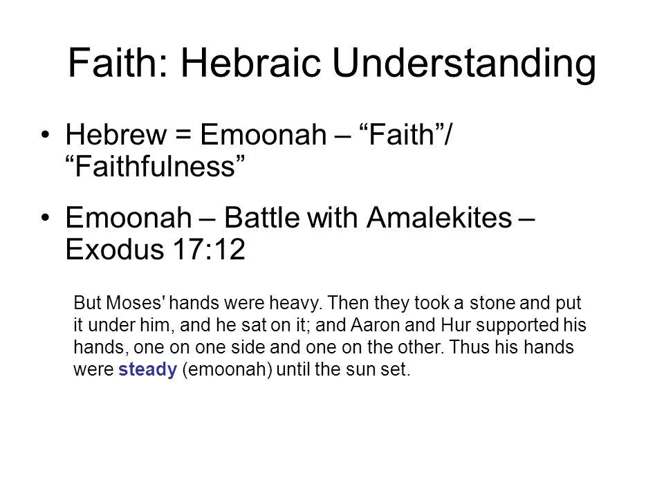 Faith: Hebraic Understanding