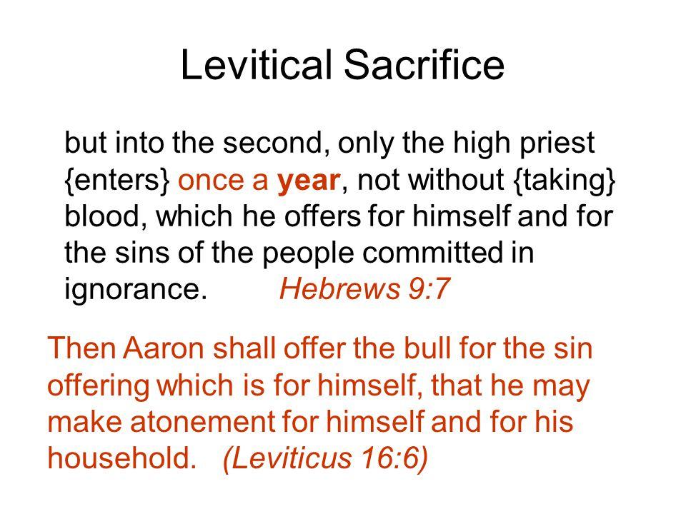 Levitical Sacrifice