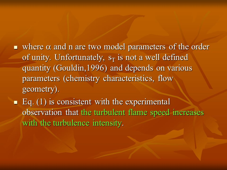 where  and n are two model parameters of the order of unity