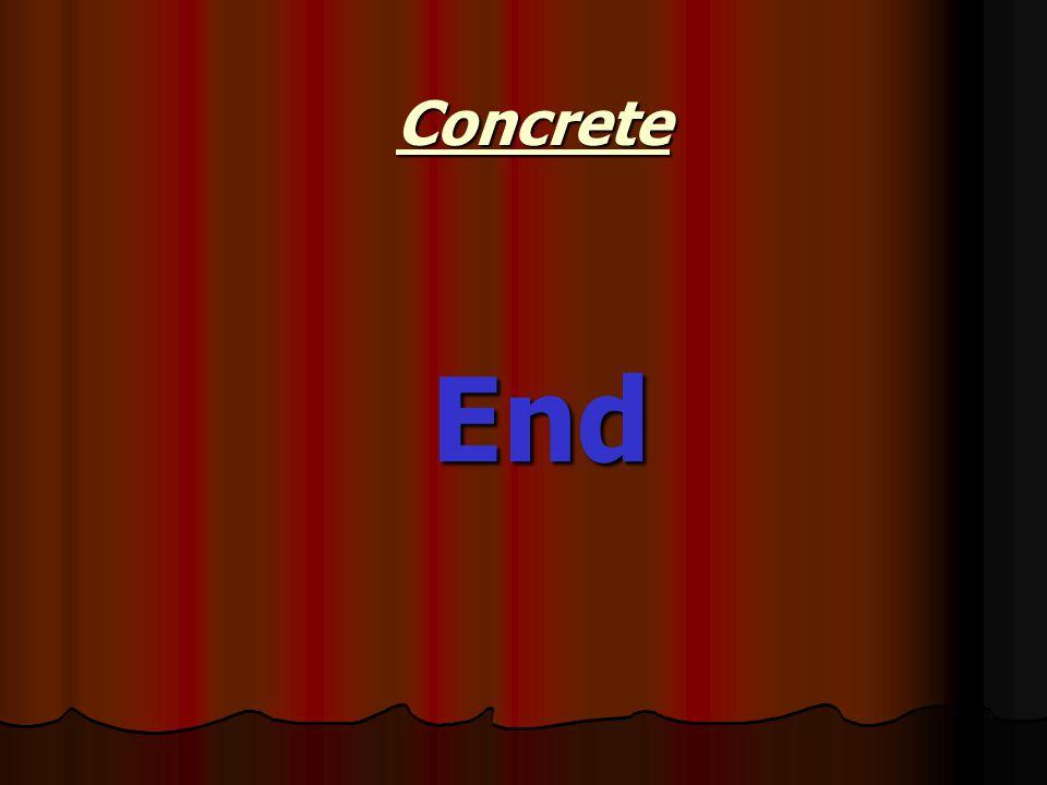 Concrete End