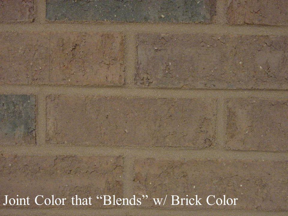 Joint Color that Blends w/ Brick Color