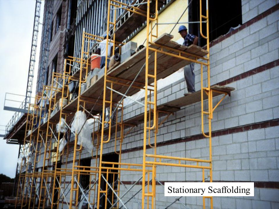 Stationary Scaffolding