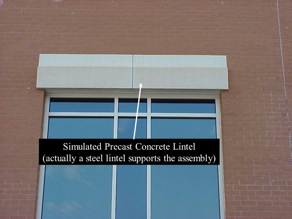 Simulated Precast Concrete Lintel