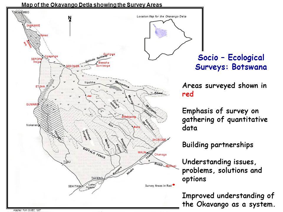 Socio – Ecological Surveys: Botswana