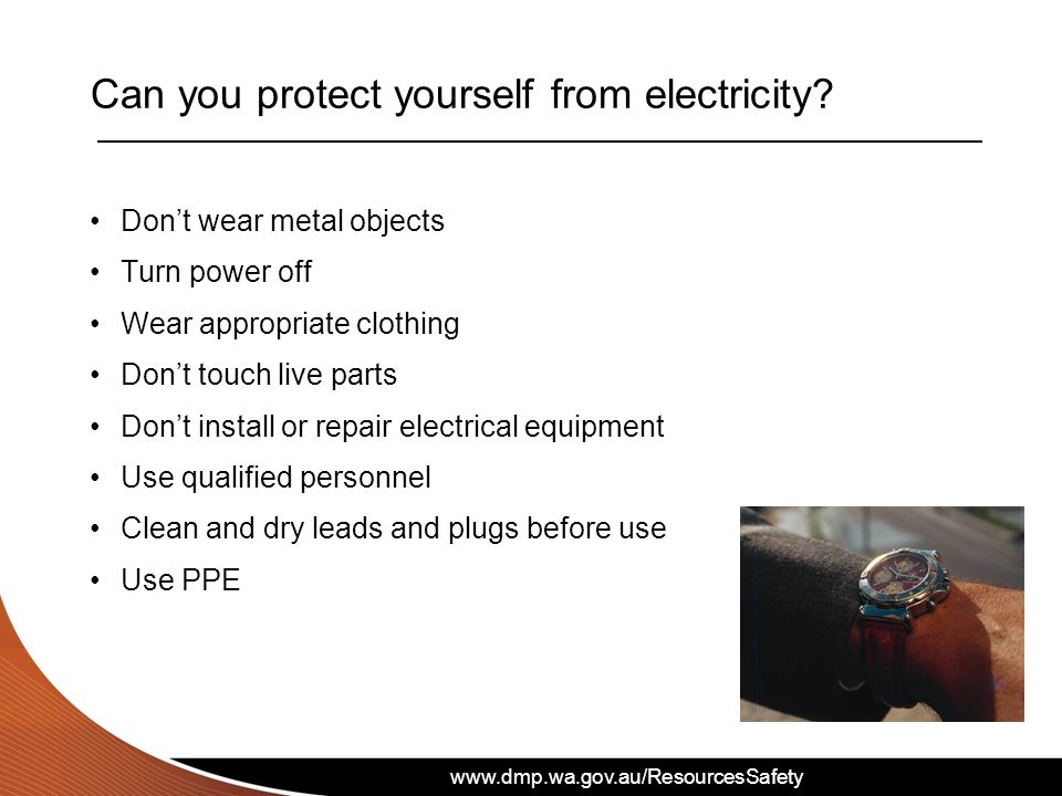 Can you protect yourself from electricity