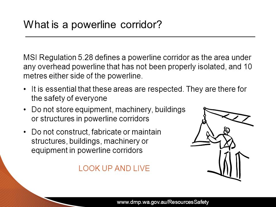 What is a powerline corridor