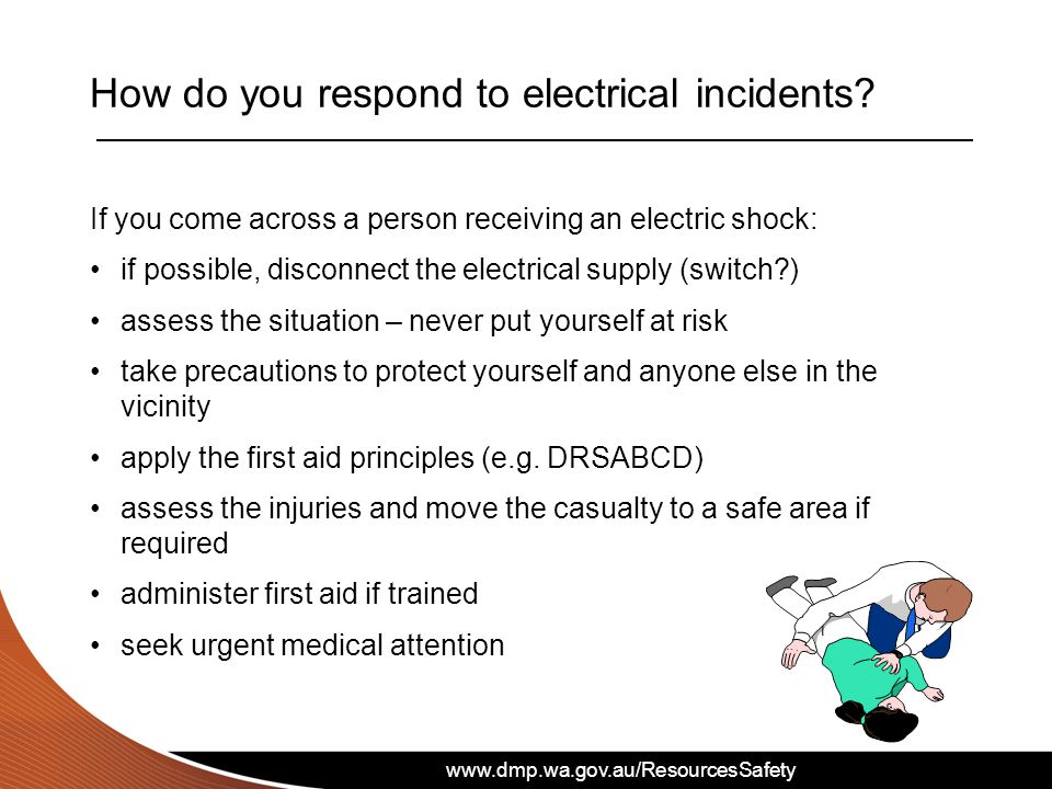 How do you respond to electrical incidents
