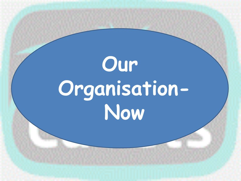 Our Organisation- Now