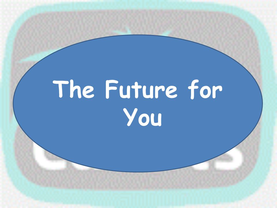 The Future for You