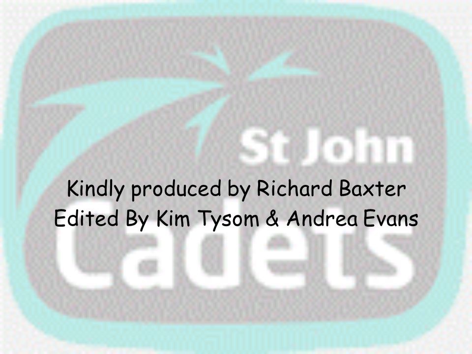 Kindly produced by Richard Baxter Edited By Kim Tysom & Andrea Evans