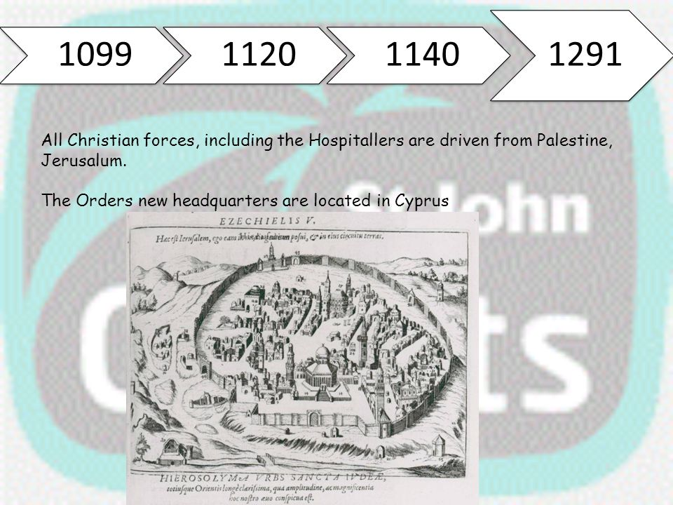 The Orders new headquarters are located in Cyprus
