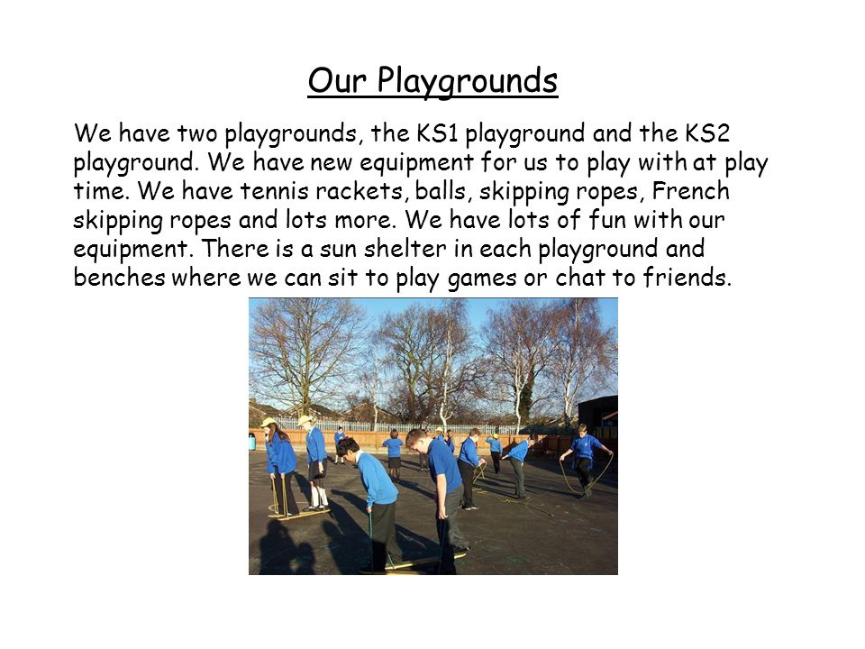 Our Playgrounds