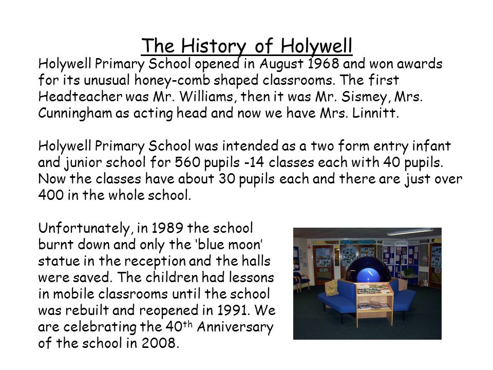 The History of Holywell