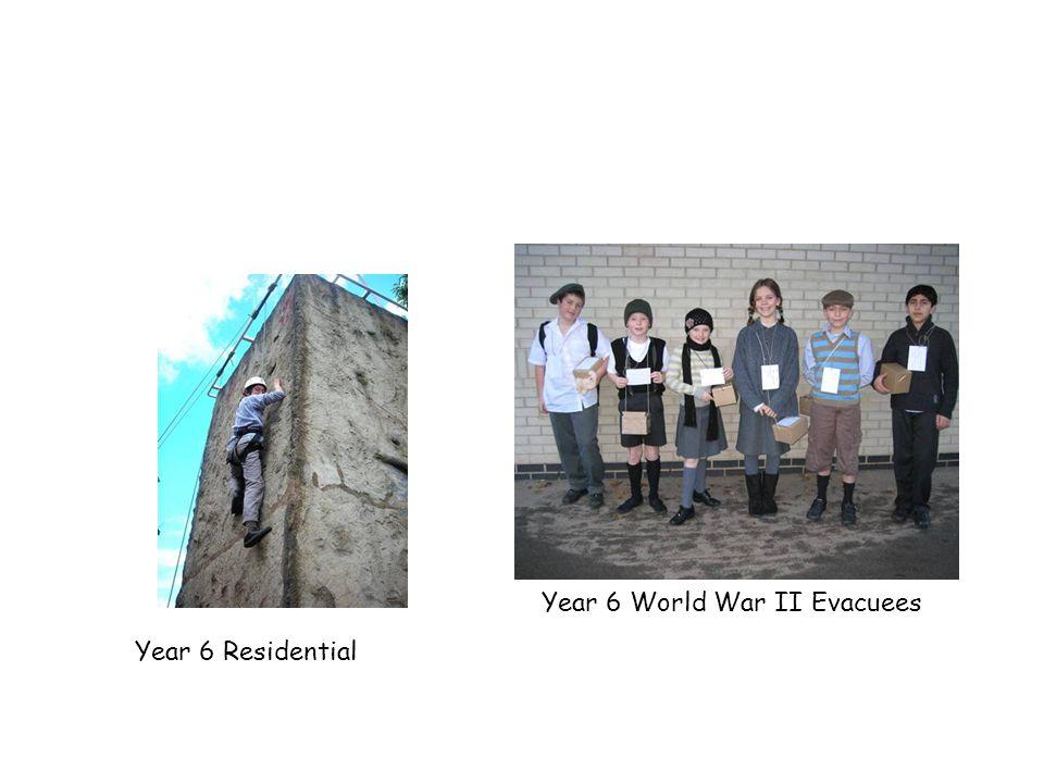 Year 6 World War II Evacuees