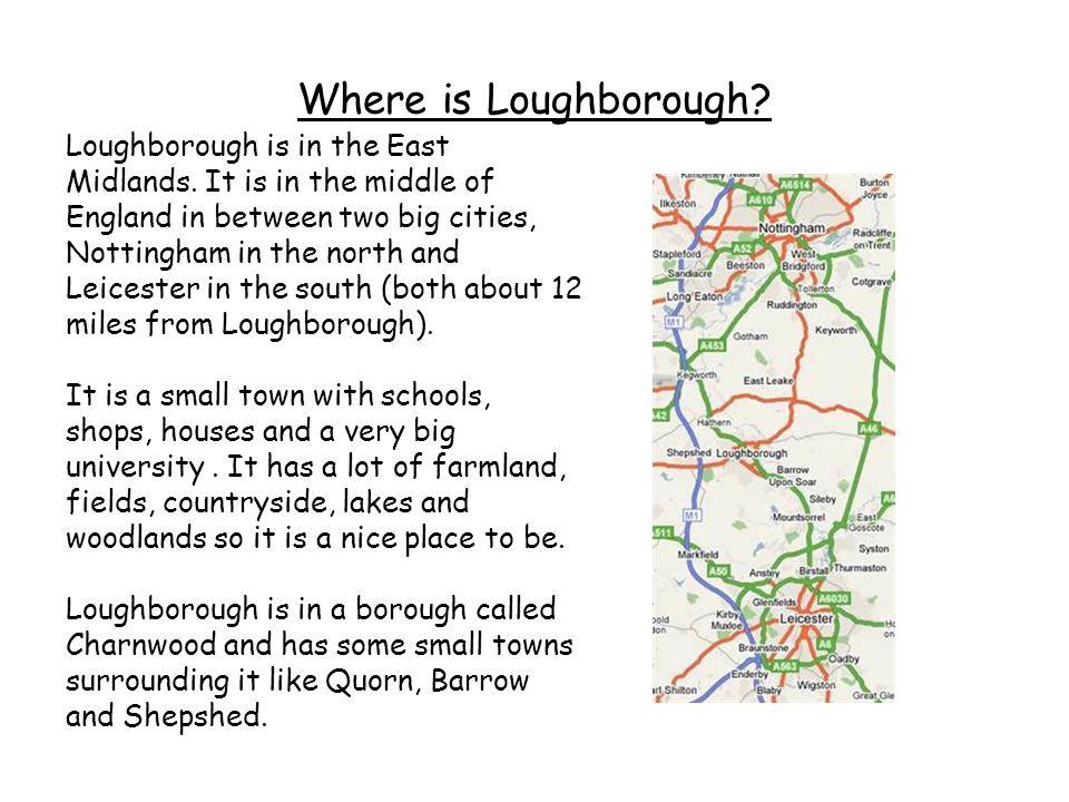 Where is Loughborough