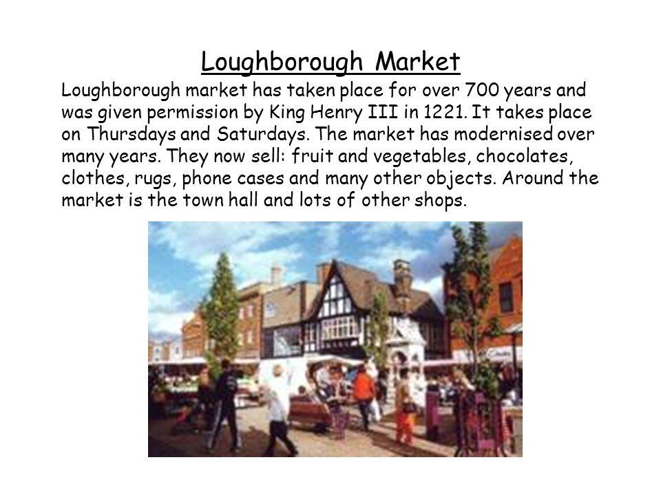 Loughborough Market
