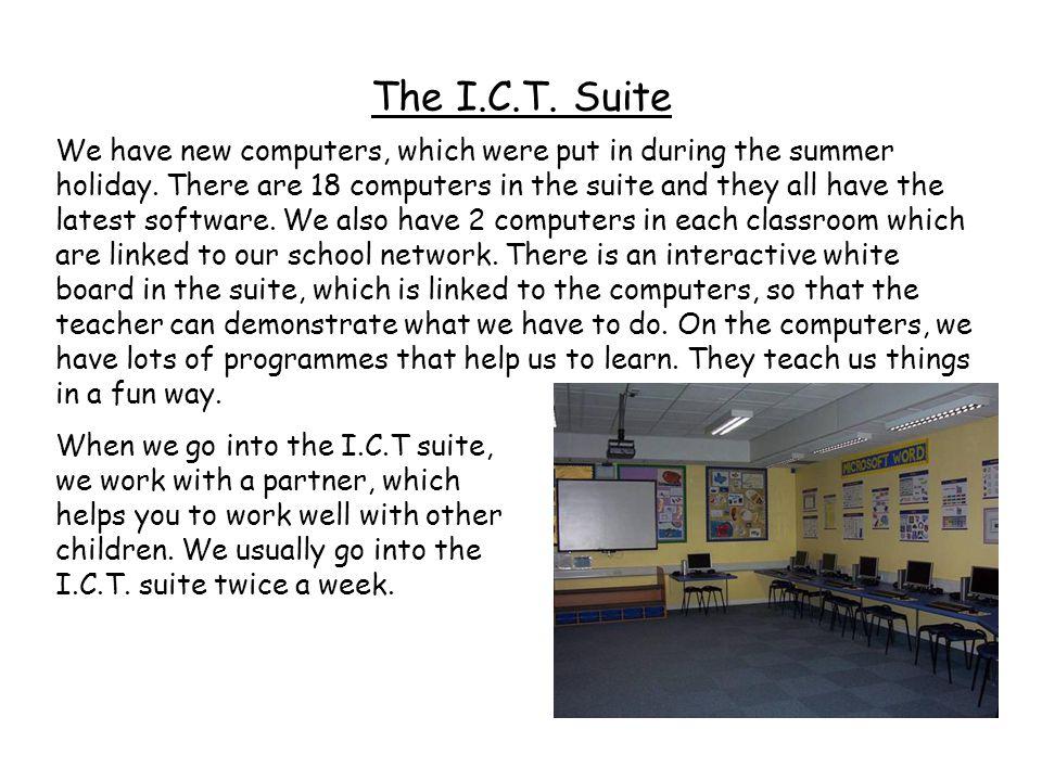 The I.C.T. Suite