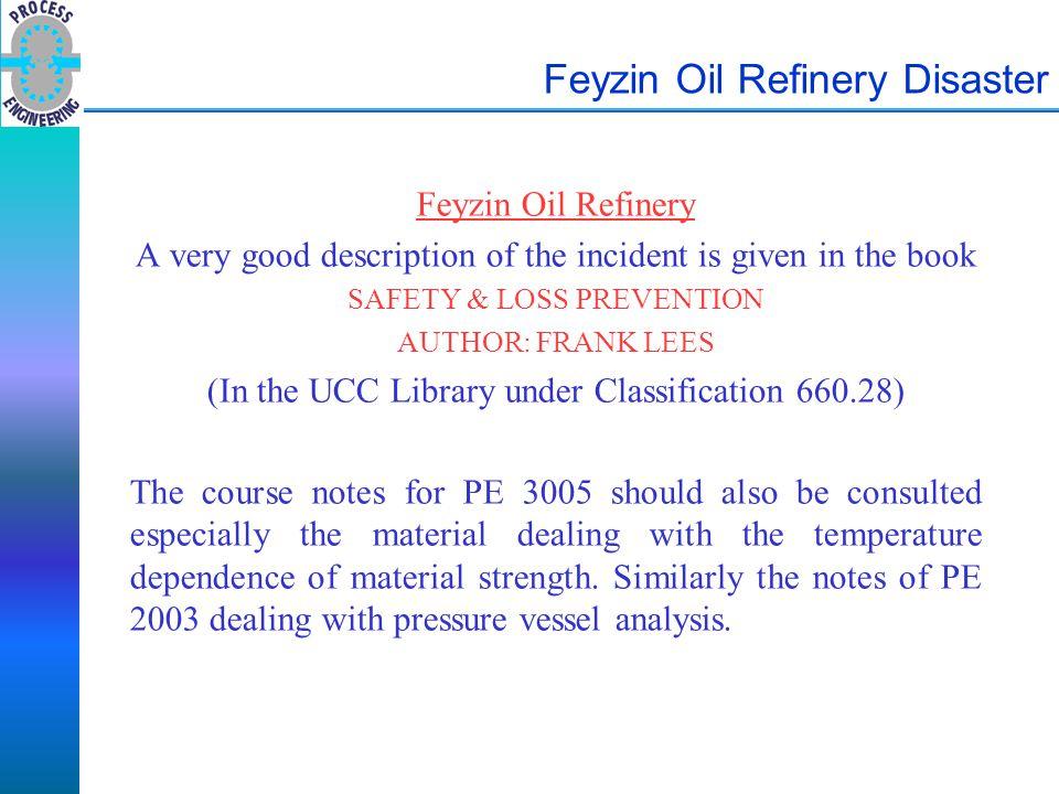 Feyzin Oil Refinery Disaster