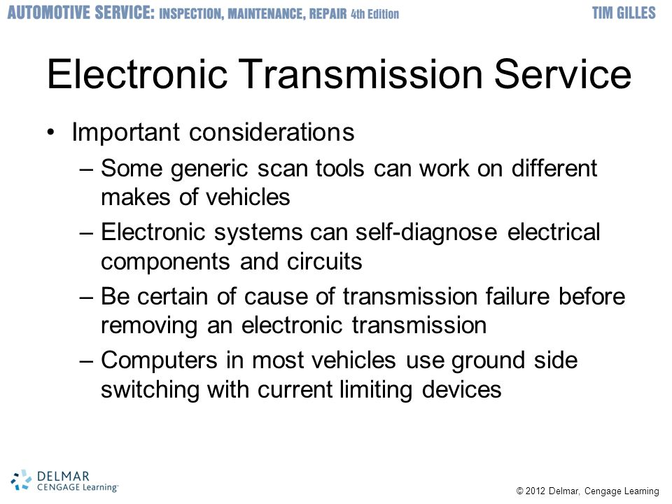 Electronic Transmission Service