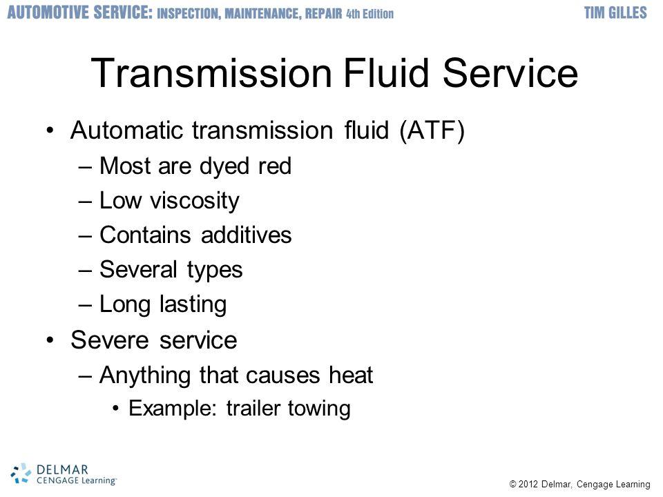 Transmission Fluid Service