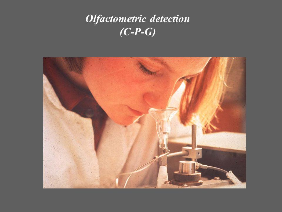 Olfactometric detection