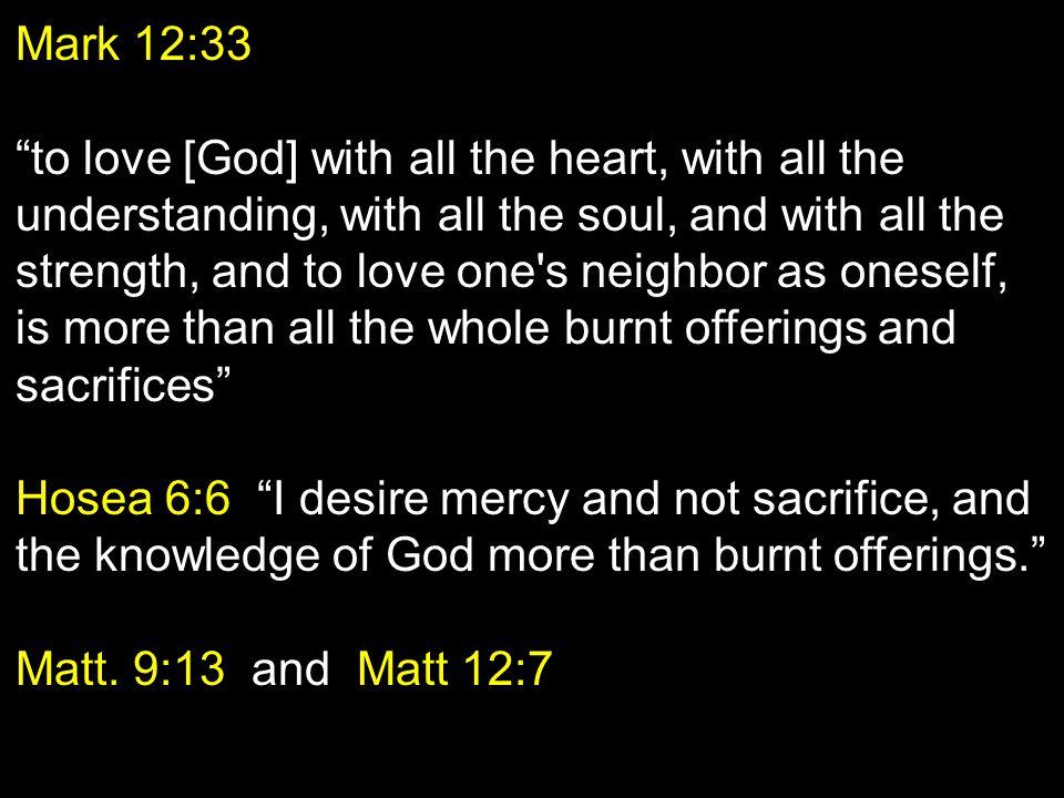Mark 12:33