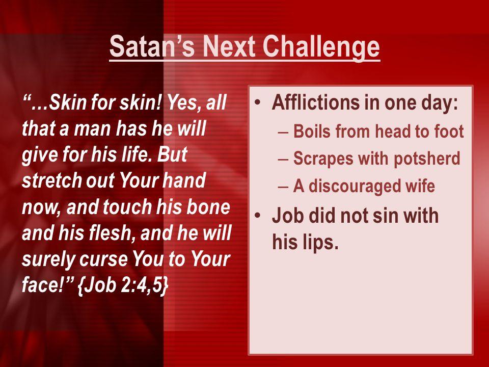 Satan's Next Challenge