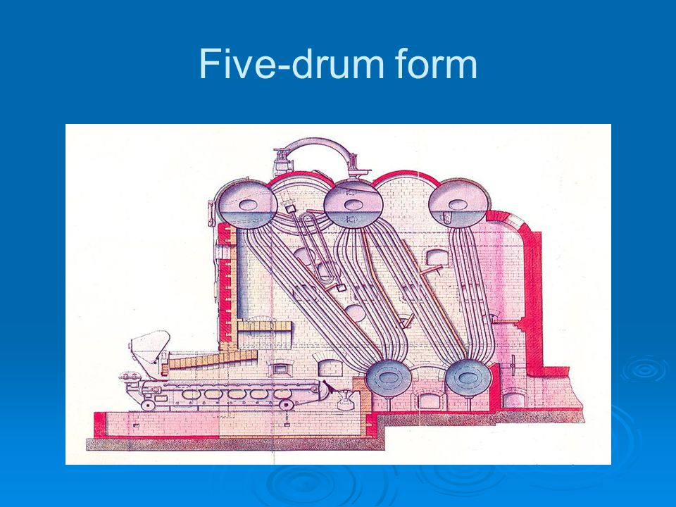 Five-drum form