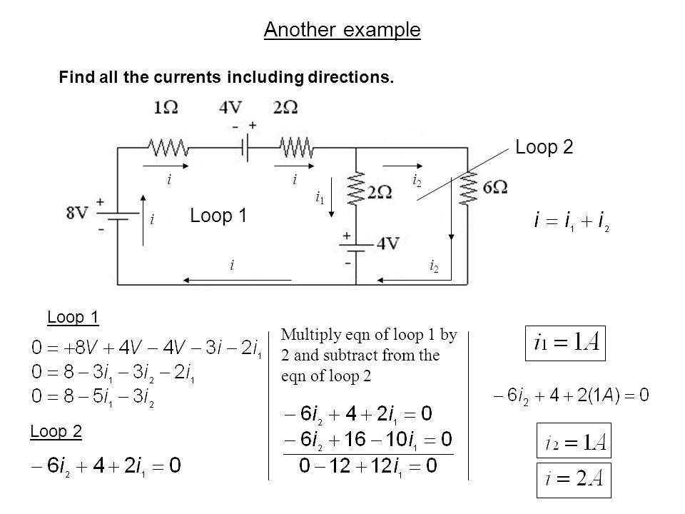 Another example Loop 2 Loop 1