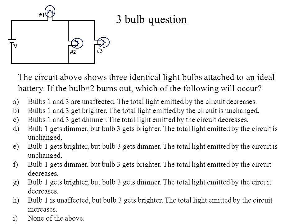 3 bulb question