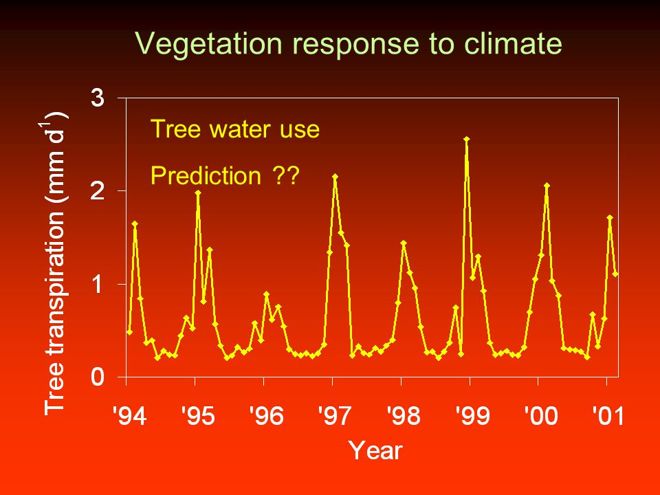 Vegetation response to climate