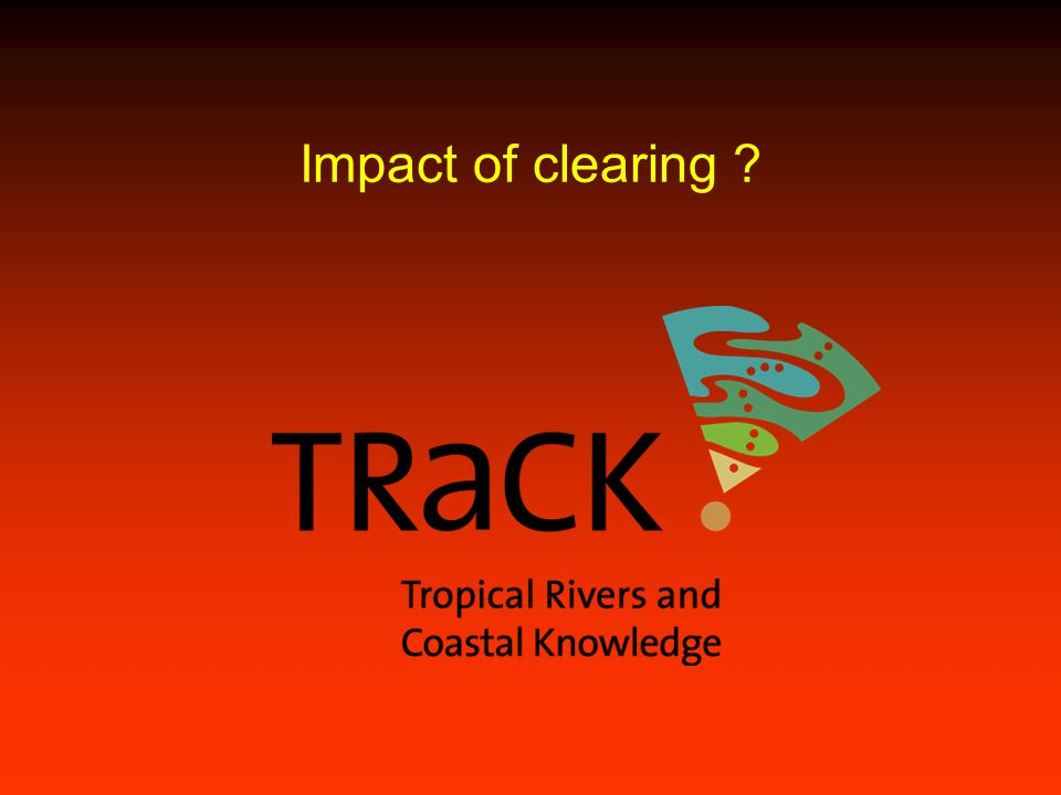 Impact of clearing