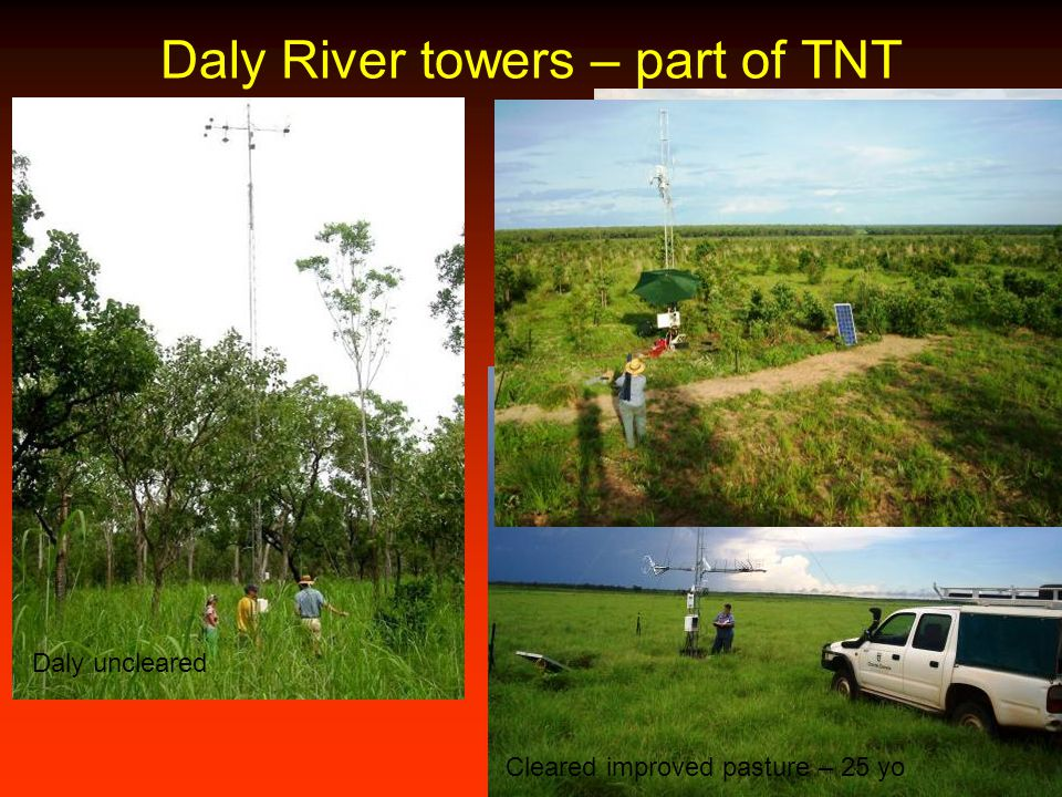 Daly River towers – part of TNT