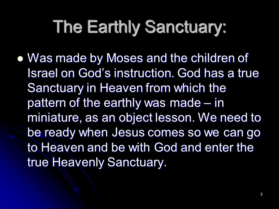 The Earthly Sanctuary: